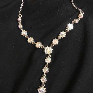 Multicolored Rhinestone Necklace